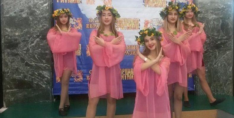 Школа танцев New Star покорила «Олимп Евразии»