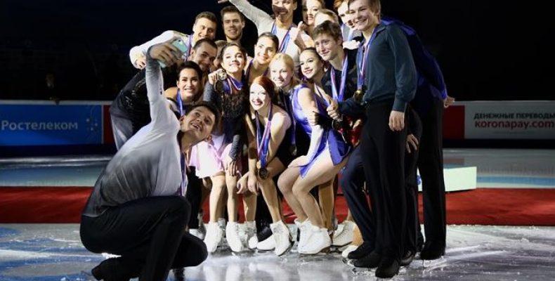 В Челябинске завершился Чемпионат России по фигурному катанию