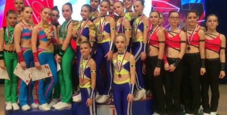 Челябинская область взяла десять медалей на чемпионате России по фитнес-аэробике