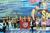 Юниоры Челябинска победили в Кубке Росси по черлидингу