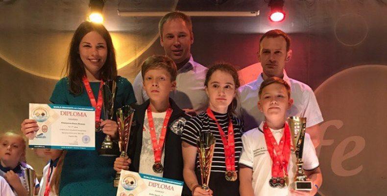 Челябинские шашисты привезли 8 медалей из Болгарии