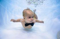 Плавание с пеленок: бассейны для малышей в Челябинске