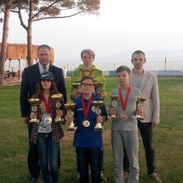 Русские шашки в турецком Измире: 5 медалей у челябинцев
