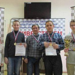 Областной этап Чудо-шашек: школа 129 (Челябинск) стала лучшей